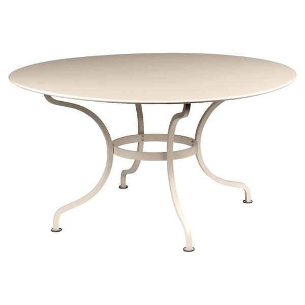 Fermob Romane Table Round  137cm in Nutmeg