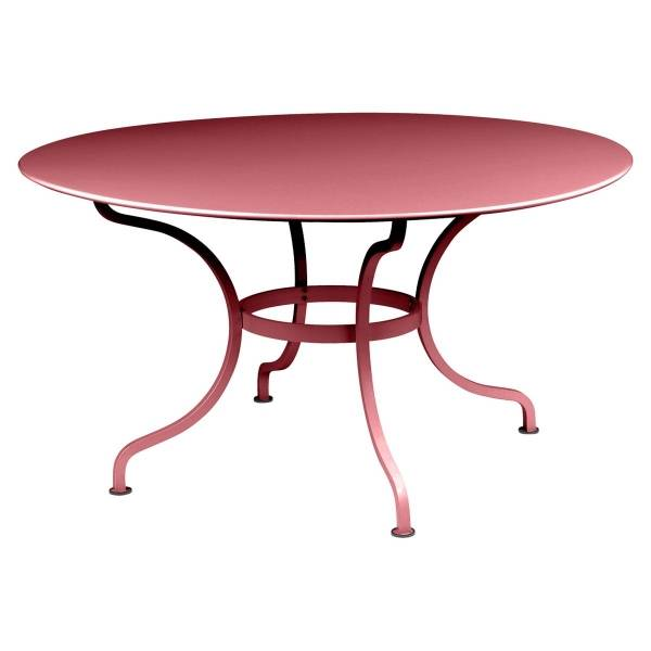 Fermob Romane Table Round  137cm in Chilli