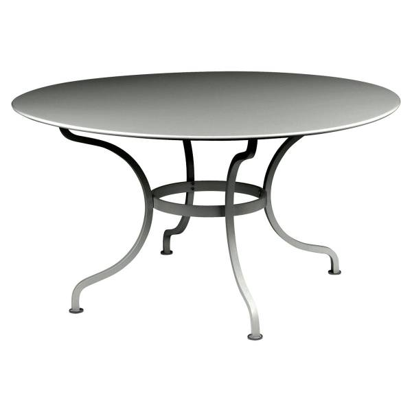 Fermob Romane Table Round  137cm in Rosemary