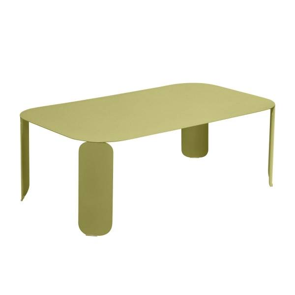 Fermob Bebop Low Table 120 x 70cm - 42 cm High in Willow Green