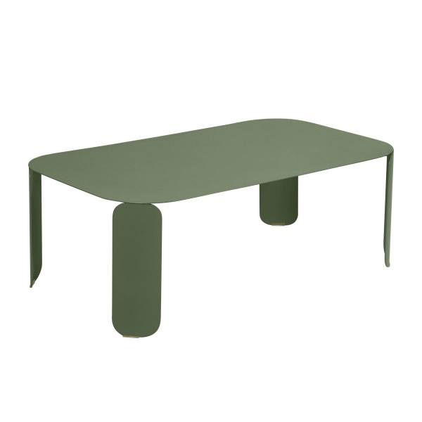 Fermob Bebop Low Table 120 x 70cm - 42 cm High in Cactus
