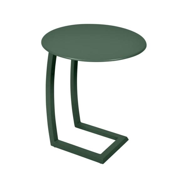 Fermob Alize Offset Low Table in Cedar Green