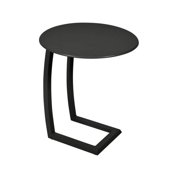 Fermob Alize Offset Low Table in Liquorice