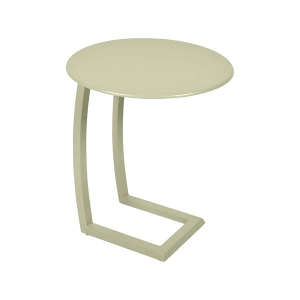 Fermob Alize Offset Low Table in Willow Green