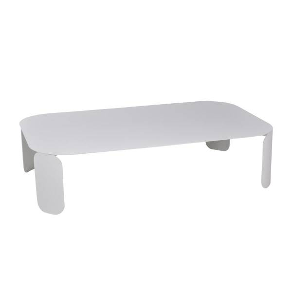 Fermob Bebop Low Table 120 x 70cm - 29cm High in Cotton White
