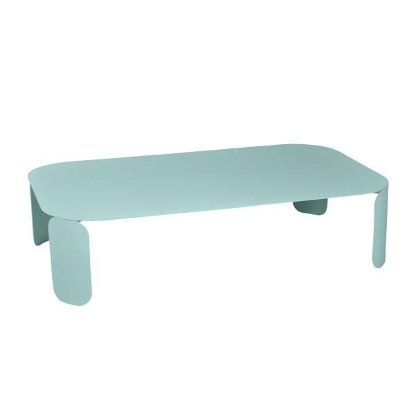 Fermob Bebop Low Table 120 x 70cm - 29cm High in Lagoon Blue