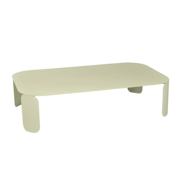 Fermob Bebop Low Table 120 x 70cm - 29cm High in Willow Green