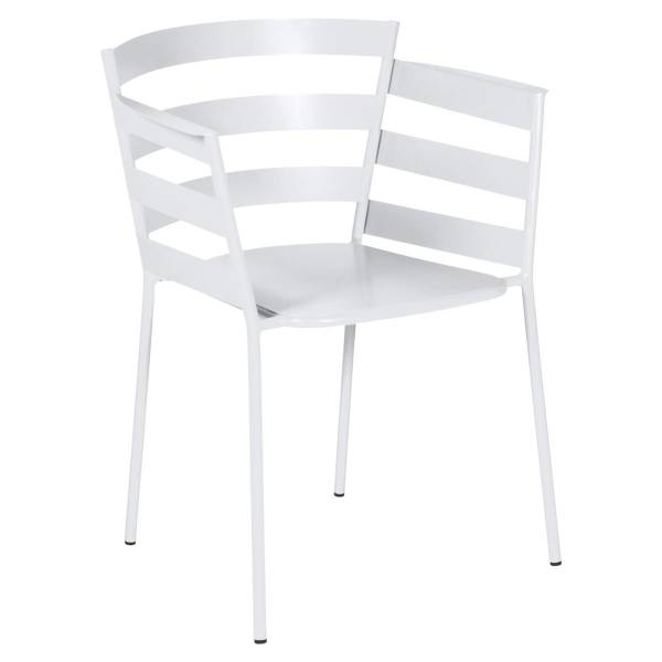 Fermob Rythmic Armchair in Cotton White