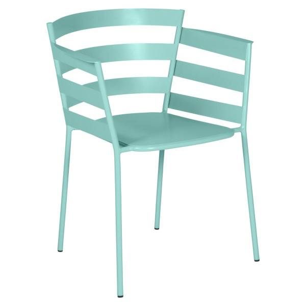 Fermob Rythmic Armchair in Lagoon Blue