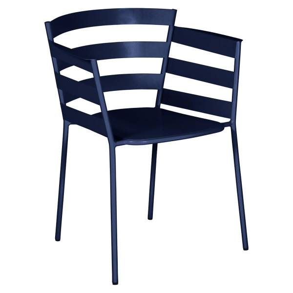 Fermob Rythmic Armchair in Deep Blue