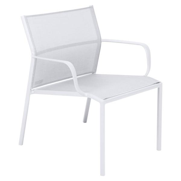 Fermob Cadiz Low Armchair in Cotton White