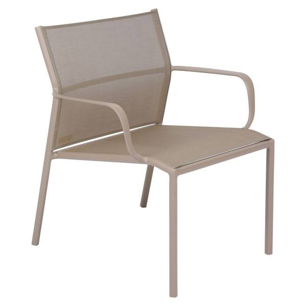 Fermob Cadiz Low Armchair in Nutmeg