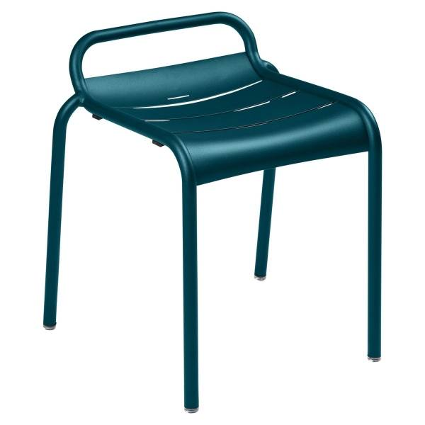 Luxembourg Stool in Acapulco Blue