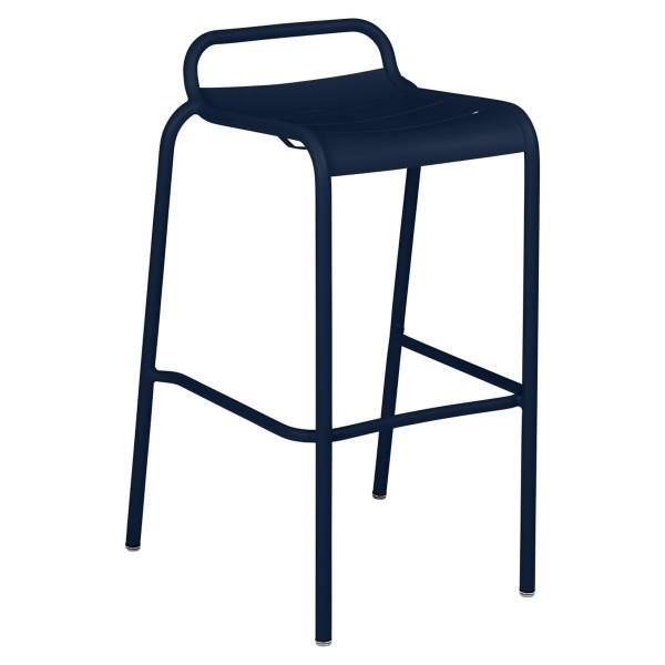Luxembourg Bar Stool in Deep Blue