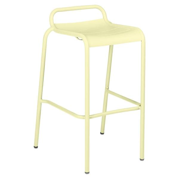 Luxembourg Bar Stool in Frosted Lemon