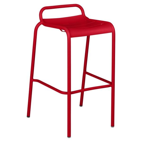 Luxembourg Bar Stool in Poppy