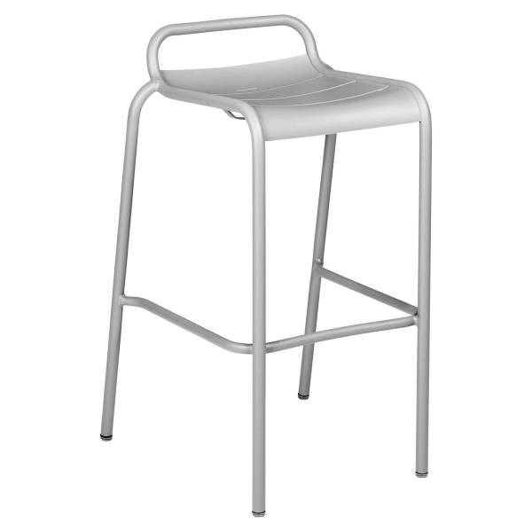 Luxembourg Bar Stool in Steel Grey