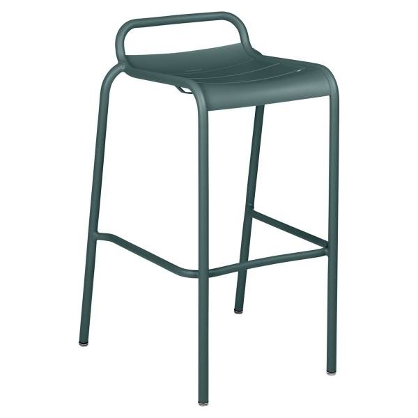 Luxembourg Bar Stool in Storm Grey