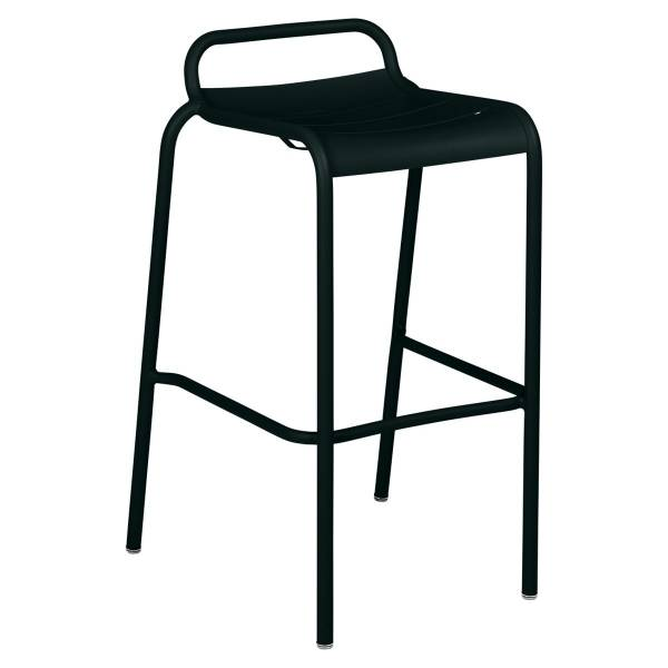 Luxembourg Bar Stool in Liquorice