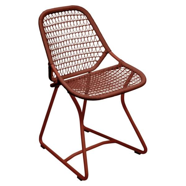 Fermob Sixties Dining Chair in Red Ochre