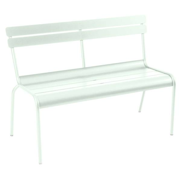 Fermob Luxembourg Bench with Back in Ice Mint