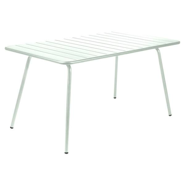 Fermob Luxembourg Table 143 x 80cm in Ice Mint
