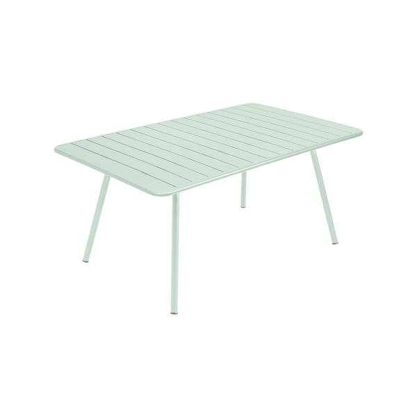 Fermob Luxembourg Table 165 x 100cm in Ice Mint