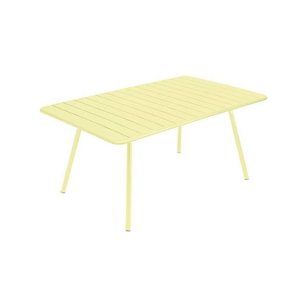 Fermob Luxembourg Table 165 x 100cm in Frosted Lemon