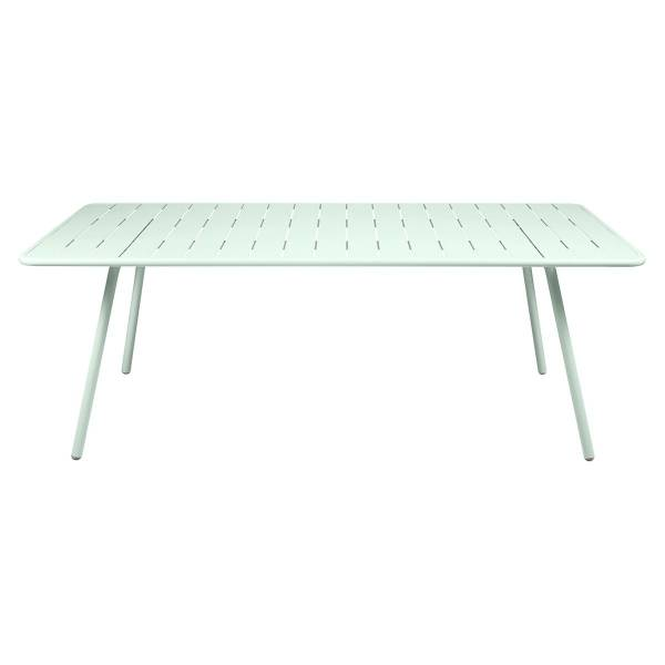 Fermob Luxembourg Table 207 x 100cm in Ice Mint