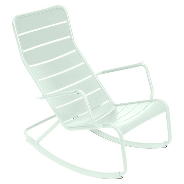 Fermob Luxembourg Rocking Chair in Ice Mint