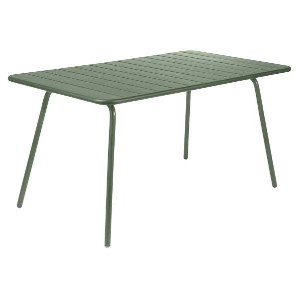 Fermob Luxembourg Table 143 x 80cm in Cactus
