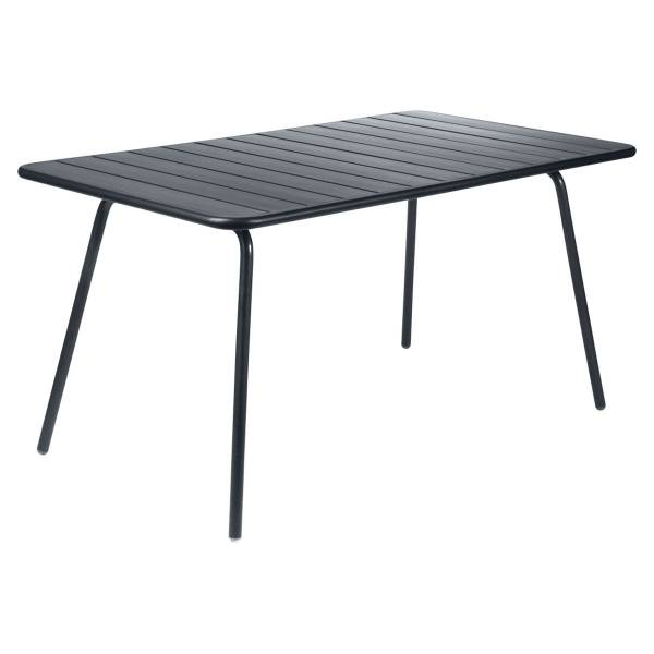 Fermob Luxembourg Table 143 x 80cm in Anthracite