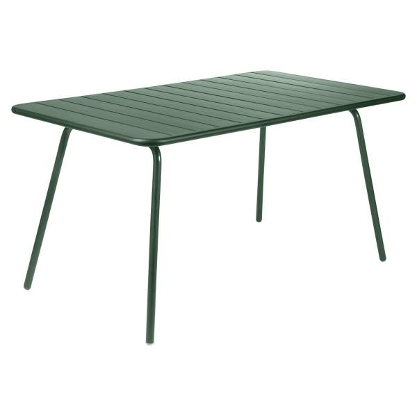 Fermob Luxembourg Table 143 x 80cm in Cedar Green