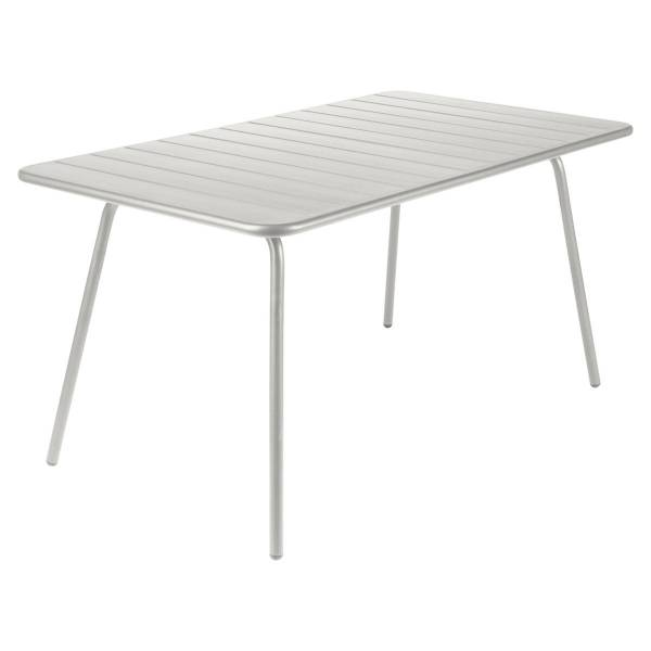 Fermob Luxembourg Table 143 x 80cm in Steel Grey