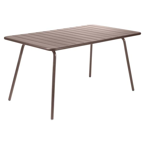 Fermob Luxembourg Table 143 x 80cm in Russet