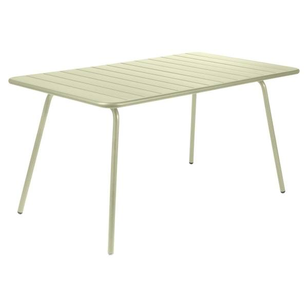 Fermob Luxembourg Table 143 x 80cm in Willow Green