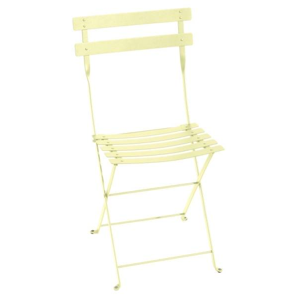 Fermob Bistro Folding Chair in Frosted Lemon