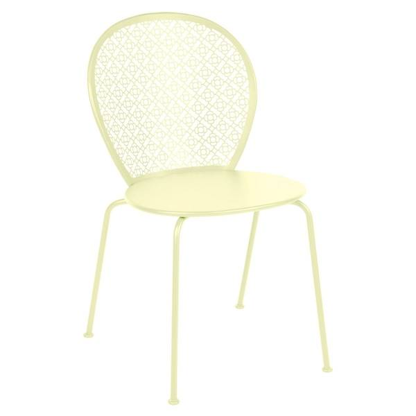 Fermob Lorette Chair in Frosted Lemon