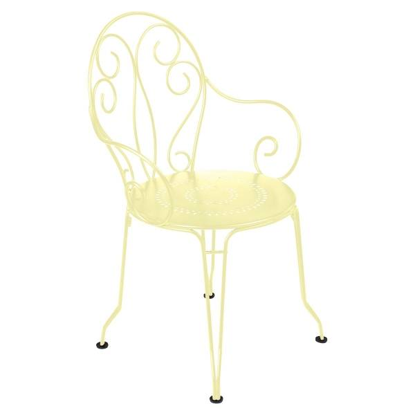 Fermob Montmartre Armchair in Frosted Lemon