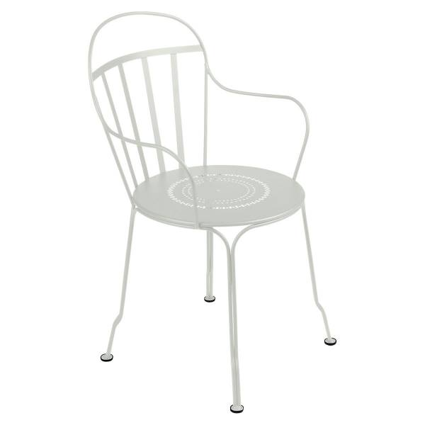Fermob Louvre Armchair in Clay Grey