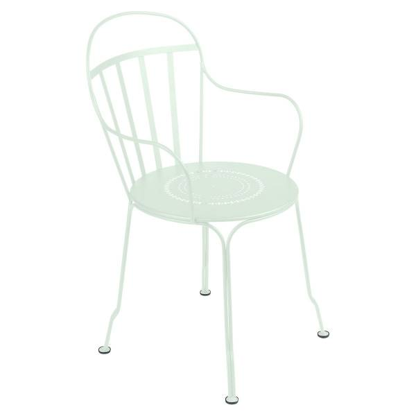 Fermob Louvre Armchair in Ice Mint