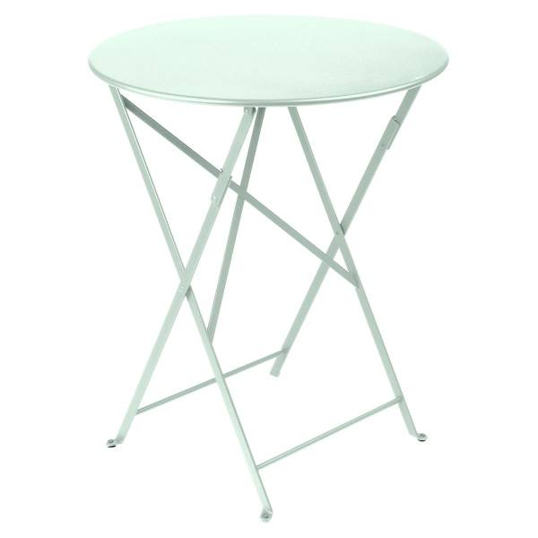 Fermob Bistro Table Round 60cm in Ice Mint