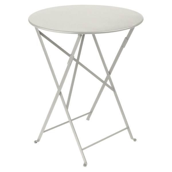 Fermob Bistro Table Round 60cm in Clay Grey