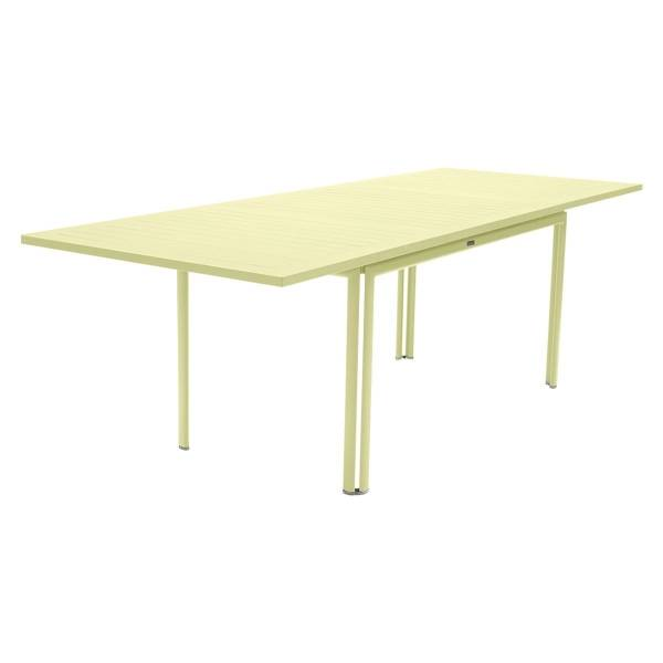 Fermob Costa Extending Table 160 to 240cm x 90cm in Frosted Lemon