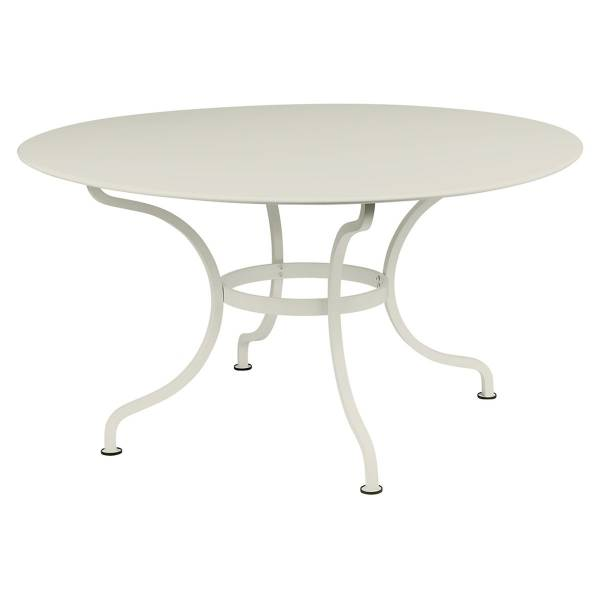 Fermob Romane Table Round  137cm in Clay Grey