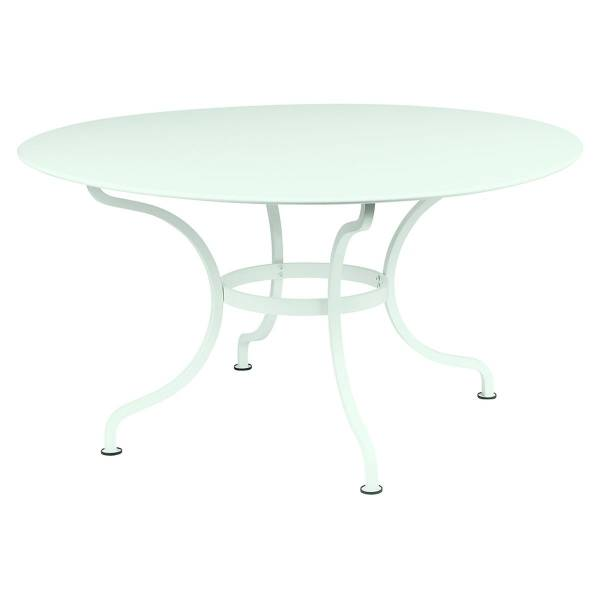 Fermob Romane Table Round  137cm in Ice Mint