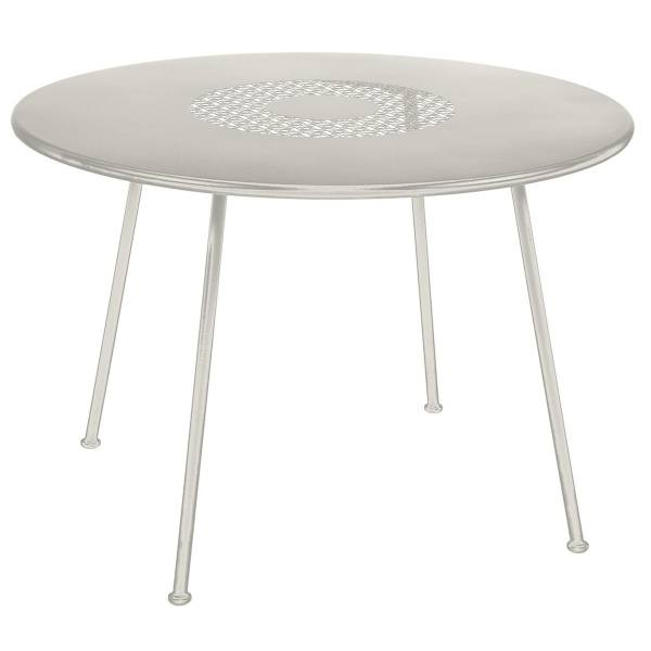 Fermob Lorette Table Round 110cm in Clay Grey
