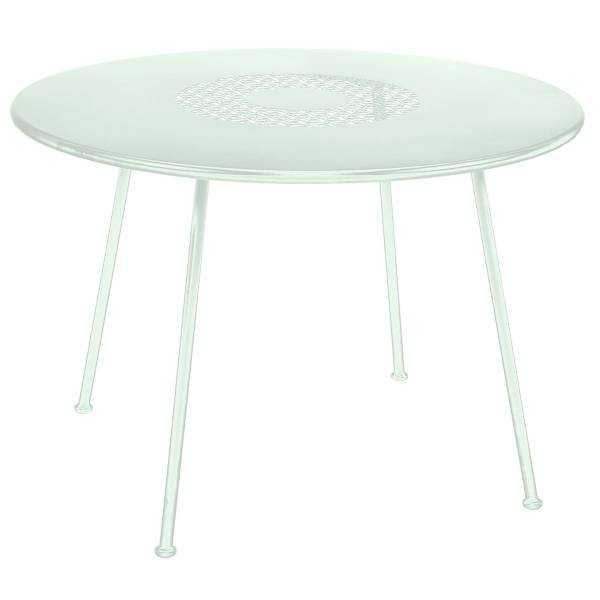 Fermob Lorette Table Round 110cm in Ice Mint