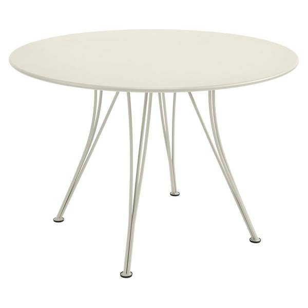 Fermob Rendez-vous Table Round 110cm in Clay Grey