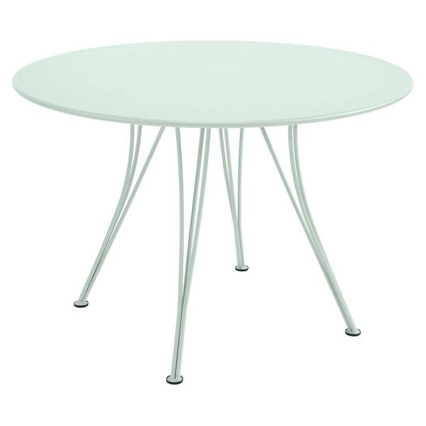 Fermob Rendez-vous Table Round 110cm in Ice Mint